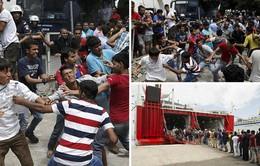 Hy Lạp: Bạo lực bùng phát tại đảo Kos