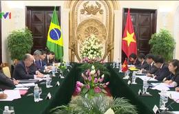 Bộ trưởng Bộ Ngoại giao Brazil thăm chính thức Việt Nam