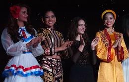 Thí sinh Hoa hậu Hoàn vũ 2015 mỗi người một vẻ thi tài năng