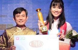 Phạm Ngọc Phương Anh đoạt giải nhất Miss Áo dài nữ sinh Việt Nam 2015
