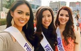 Hoa hậu Quốc tế 2015: Đại diện của Việt Nam tự tin tỏa sáng