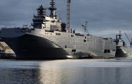 Pháp bán hai tàu chiến Mistral cho Ai Cập
