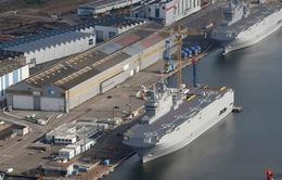 Pháp và Ai Cập đạt thỏa thuận mua bán tàu Mistral