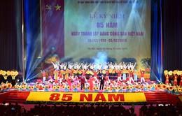 Điện mừng 85 năm Ngày thành lập Đảng Cộng sản Việt Nam