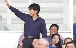 Thủ môn Quốc Cường lỡ cơ hội ghi điểm với HLV Miura