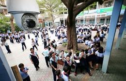 Trường học ởTP.HCM lắp camera chống bạo lực học đường
