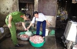 Bắc Ninh: Bắt quả tang cơ sở sản xuất hàng tấn mỡ bẩn