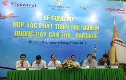 Mở đường bay Cần Thơ - Bangkok