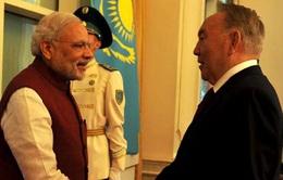 Ấn Độ và Kazakhstan ký lộ trình thúc đẩy hợp tác song phương