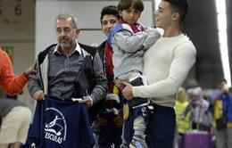 Người tị nạn bị ngáng chân được làm HLV bóng đá