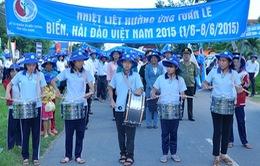 Mít tinh hưởng ứng Tuần lễ Biển và Hải đảo Việt Nam 2015