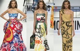 Moschino ra mắt BST váy mang phong cách Graffiti