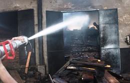 Cháy xưởng sản xuất gỗ tại Gia Lai