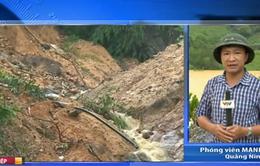 Quảng Ninh: Nguy cơ sạt lở những vùng khai thác than rất lớn
