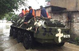 Quảng Ninh: Lực lượng vũ trang tích cực cứu trợ người dân vùng thiên tai