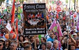 Tuần hành phản đối Hội nghị G7 tại Đức