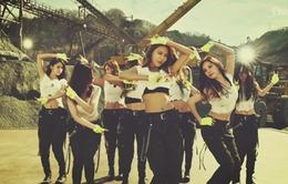 SNSD khoe vũ đạo mạnh mẽ trong MV mới