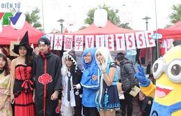 Giới trẻ Hà thành hòa mình vào không khí Noel với lễ hội Tuyết Yuki Matsuri