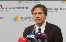 Mỹ không tìm kiếm giải pháp quân sự cho vấn đề Ukraine