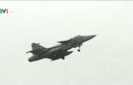 100 chiến đấu cơ Mỹ và châu Âu tập trận gần biên giới Nga