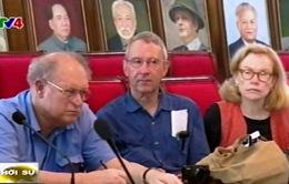Đoàn đại biểu các nhà hoạt động phản chiến Mỹ thăm Việt Nam