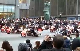 Người Mỹ ra đường xem diễu hành bất chấp cảnh báo an ninh