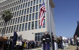 Mỹ chính thức mở cửa trở lại Đại sứ quán ở Cuba