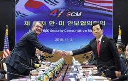 Khai mạc hội nghị tham vấn an ninh thường niên Hàn Quốc - Mỹ