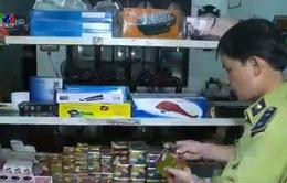 TT-Huế: Phát hiện 24 loại mỹ phẩm không rõ nguồn gốc
