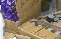 Phú Yên: Bắt giữ 1.500 chai mỹ phẩm không nguồn gốc