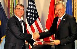 Singapore và Mỹ nâng cấp hợp tác quốc phòng