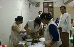 Bầu cử tại Myanmar: Đảng Liên đoàn Quốc gia vì Dân chủ tạm thời dẫn đầu
