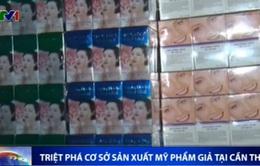 Phát hiện cơ sở sản xuất mỹ phẩm giả tại TP Cần Thơ