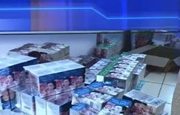 Thu giữ hơn 100 thùng mỹ phẩm nghi nhái các nhãn hàng nổi tiếng