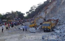 Hà Giang: Khẩn trương điều tra nguyên nhân vụ sập mỏ đá