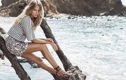 Natasha Poly ấn tượng trong chiến dịch của H&M 2015