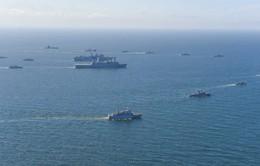NATO tập trận quy mô lớn trên biển Baltic