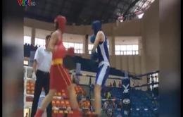 Đội boxing nữ Việt Nam tập huấn tại Thái Lan