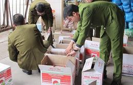 Quảng Bình: Thu giữ hơn 1.800 chai nước mắm giả