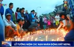 Lễ tưởng niệm các nạn nhân động đất Nepal