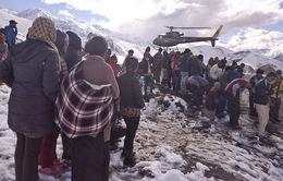 Động đất tại Nepal: Công tác cứu trợ gặp nhiều khó khăn