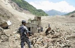 Lở đất tại Nepal, ít nhất15 ngườithiệt mạng