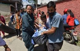 Trận động đất mới nhất tại Nepal: Đã phát hiện 4 người thiệt mạng