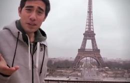 """Chiêm ngưỡng màn ảo thuật """"đánh cắp"""" tháp Eiffel độc đáo"""
