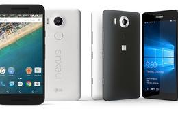 Mua Lumia 950, Nexus 5X hay Xperia Z5?