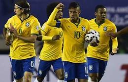 Neymar cuống cuồng xin lỗi đồng đội ở tuyển Brazil