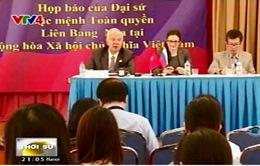 Đại sứ Nga tại Việt Nam họp báo sau chuyến thăm Nga của Chủ tịch nước
