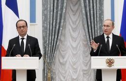 Nga - Pháp tăng cường trao đổi thông tin chống khủng bố