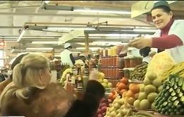 Kinh tế Nga tiếp tục lún sâu vào suy thoái