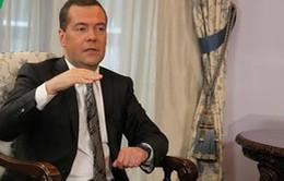 """Thủ tướng Nga Medvedev: """"Tôi luôn có cảm giác dễ chịu khi đến Việt Nam"""""""